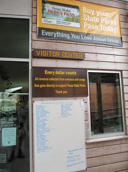 EL Visitors Center