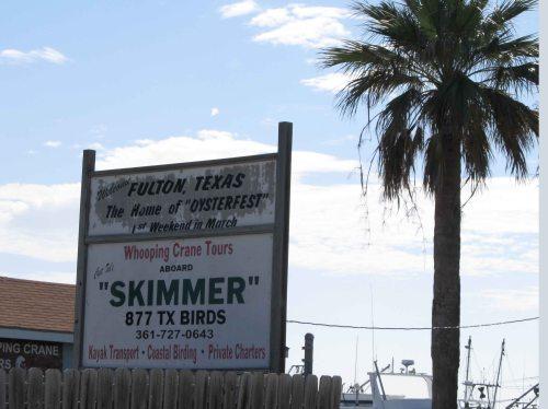 Skimmer Sign