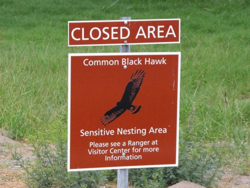 Black Hawk Sign