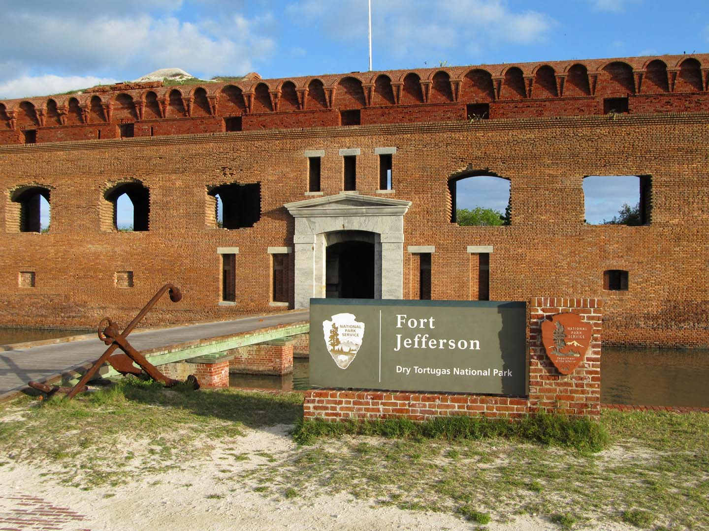 Fort Jefferson Sign