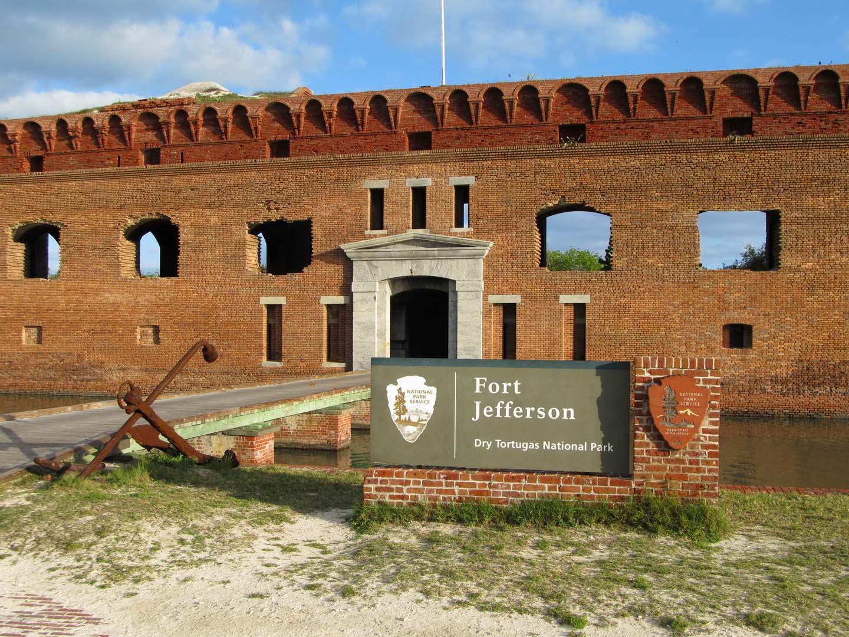 Fort Jefferson Sign