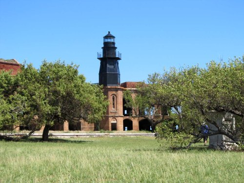 Ft Jefferson lighthouse