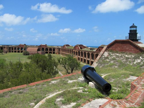 Inside Fort Jefferson
