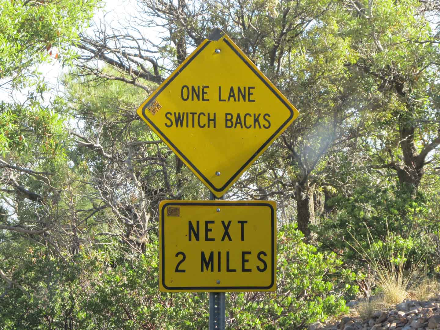 One Lane Switchbacks