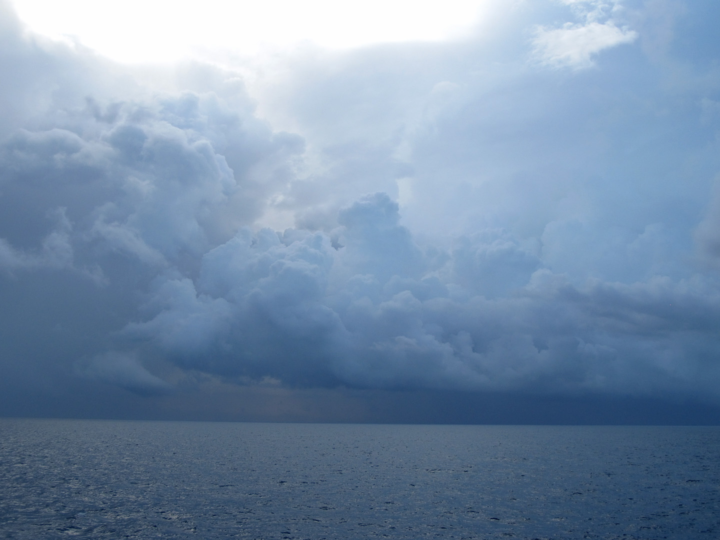Storms over the Ocean