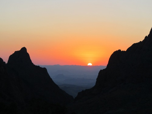 Sunset at Big Bend
