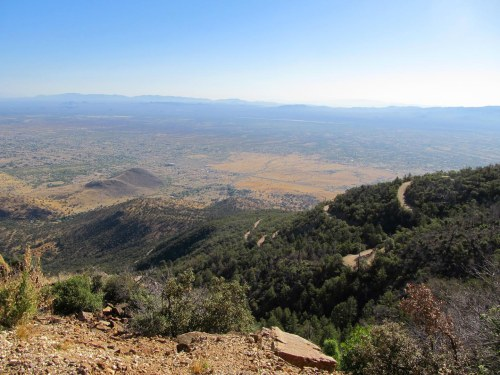 View from Carr Canyon