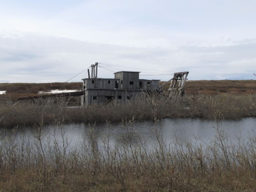 Abandoned Gold Dredge
