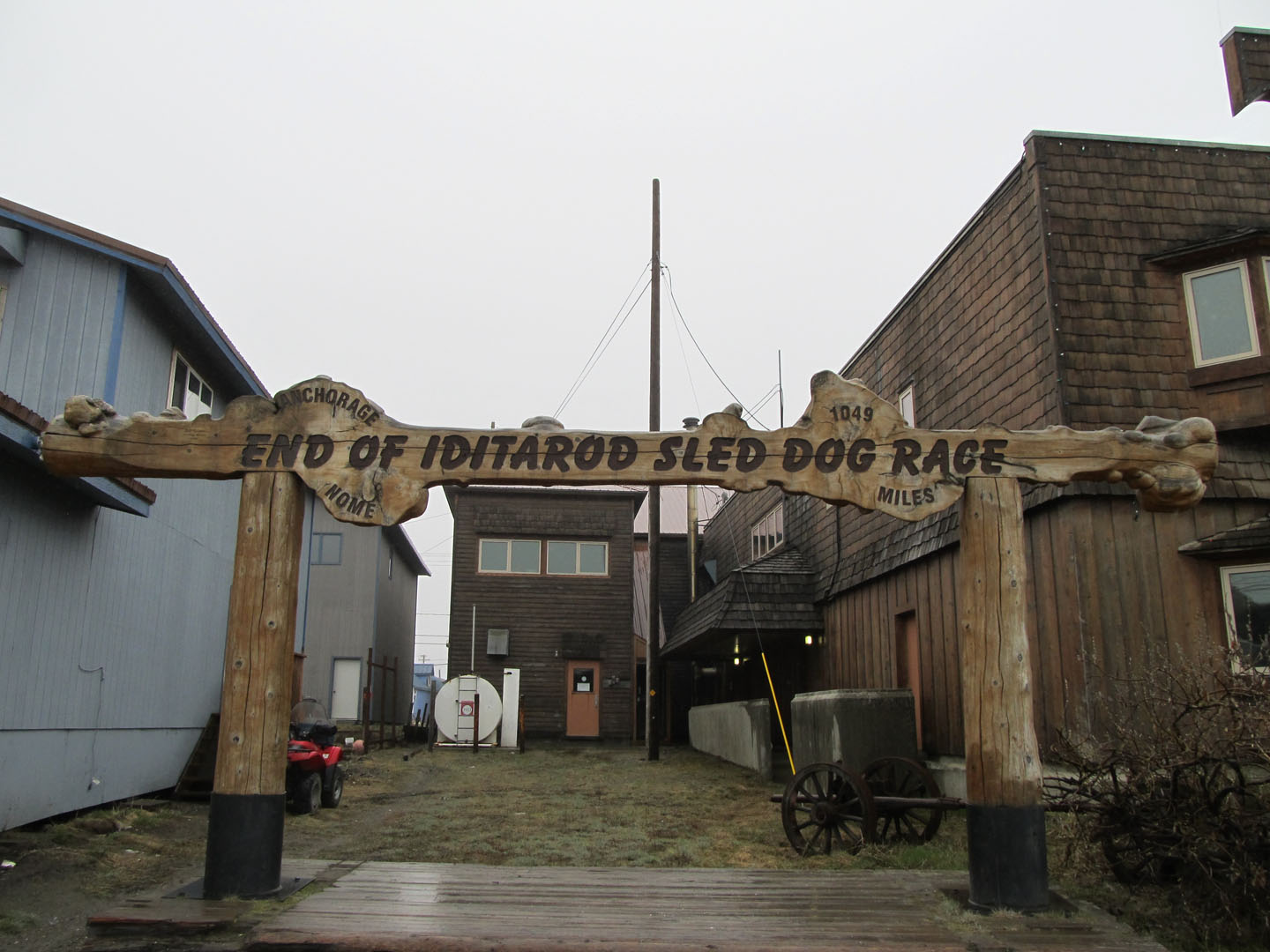 End of Iditarod