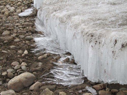 Ice columns
