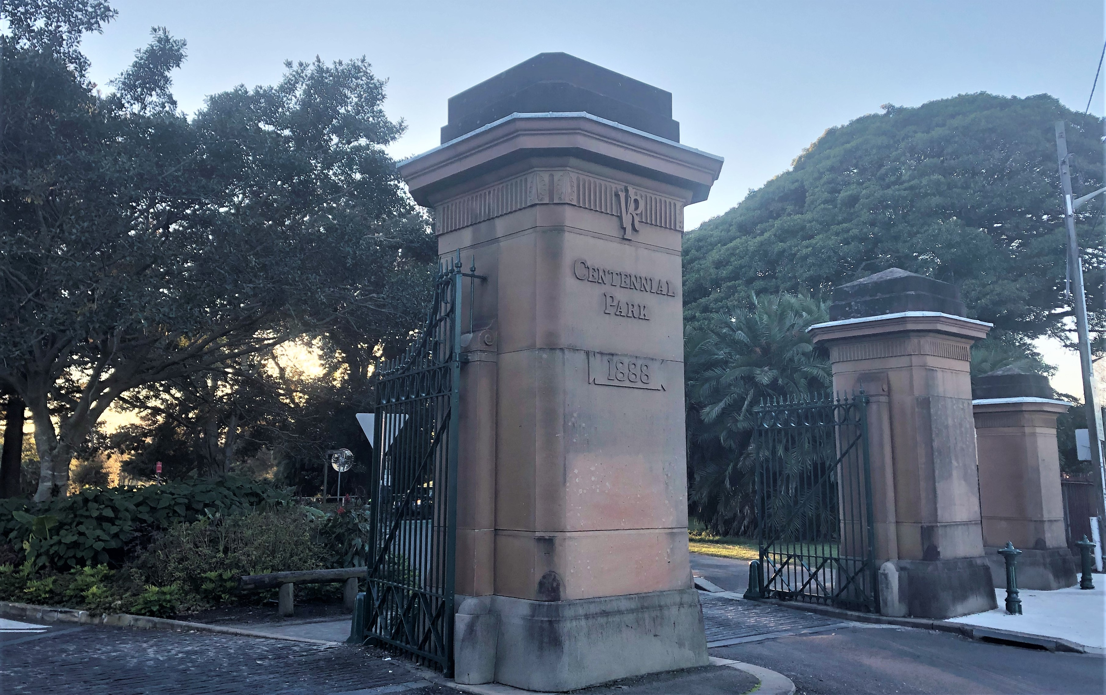 Gates to Centennial Park
