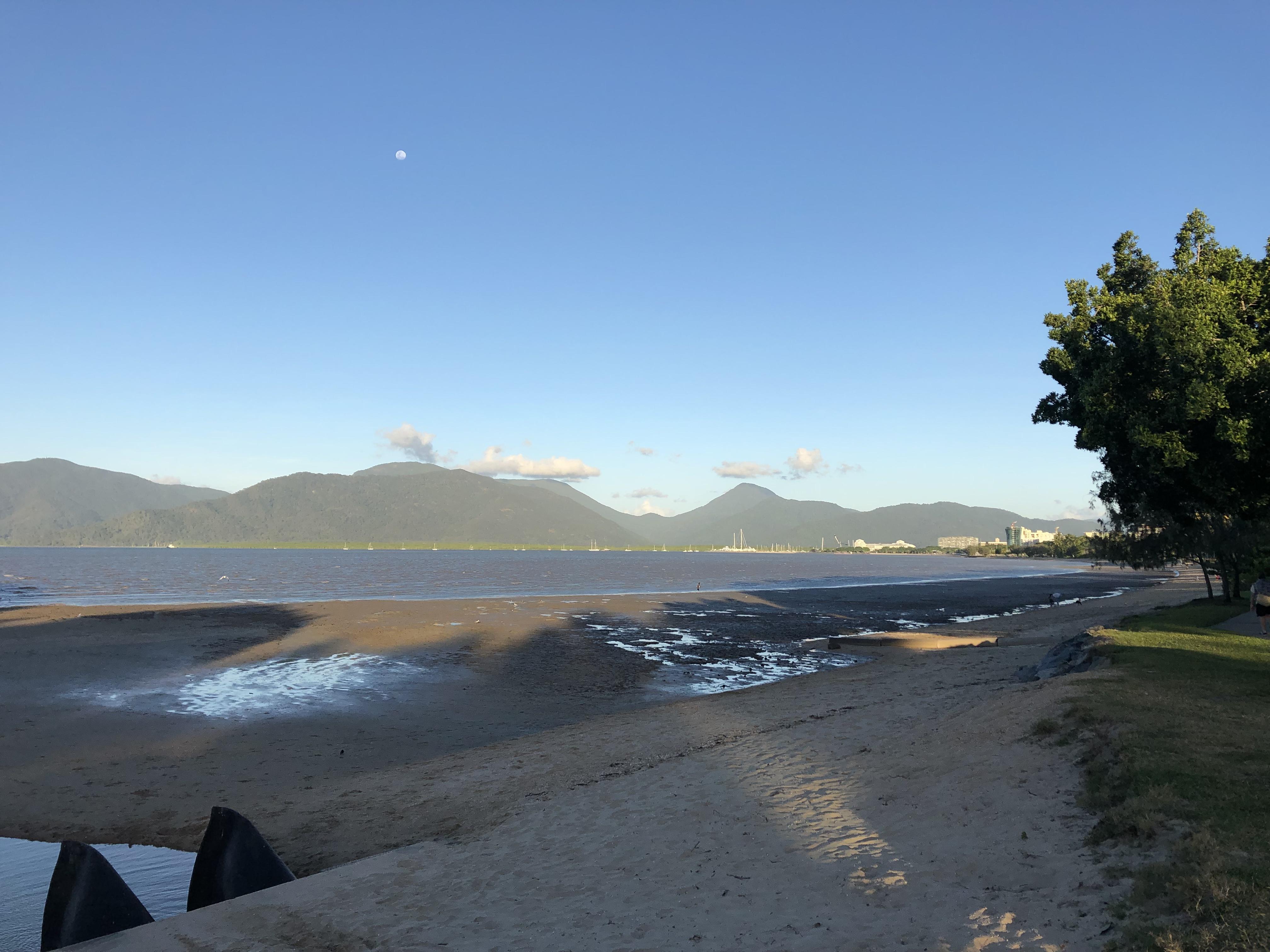 Cairns Beach at the Esplanade